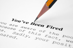 licenziamento del dipendente - You' ve been fired